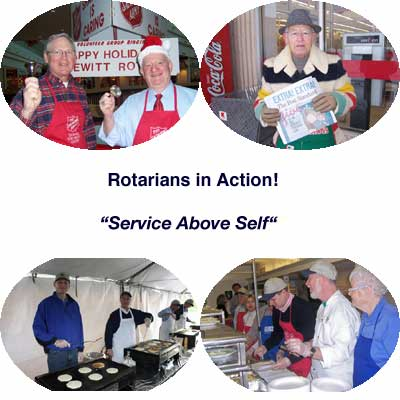 Rotarians in Action